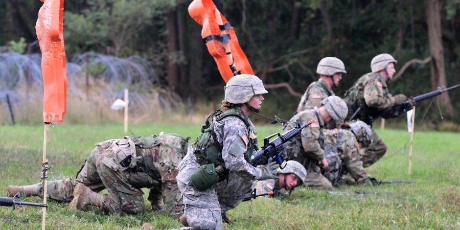Ranger Challenge Cadets conduct a tactics lane
