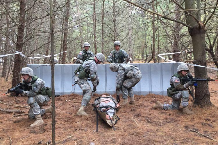 Ranger Challenge Casualty Evacuation